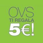 Buono sconto 5 euro OVS, ancora pochi giorni!