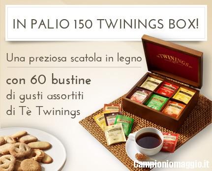 In palio 150 twinings box con donnamoderna.com campioniomaggio.it