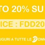 20% di sconto sui cosmetici Douglas
