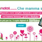 Prenatal ti regala tre copie digitali di 'Io e il mio Bambino'