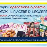 Abbonamento a riviste Mondadori omaggio con Deox