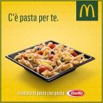 Insalata di pasta omaggio da McDonald's