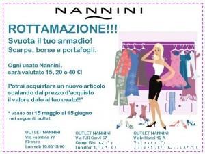 a3ffe0e677 Rottamazione e sconti negli Outlet Nannini | CampioniOmaggio.it: Campioni  Omaggio, Coupon e buoni spesa, concorsi e promozioni online