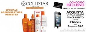 Vinci un iPhone con Collistar e Ethos