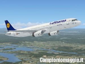 Vinci biglietto aereo con Lufthansa