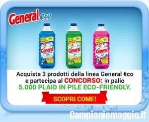 5000 plaid omaggio con General Eco