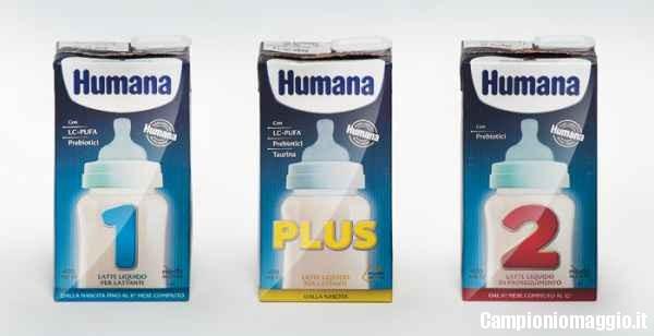 humana latte omaggi