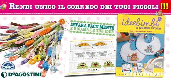 Vinci un kit per neonati con idee bimbi a punto e croce for Idee punto croce neonati