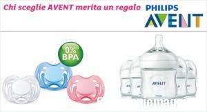 Prodotti Avent in omaggio da Prenatal
