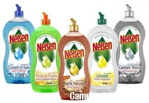 Lava i piatti e vinci una fornitura Nelsen