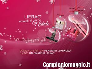 Vinci un kit di campioni omaggio Lierac!