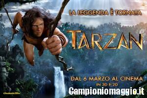 Biglietti omaggio per 'Tarzan'