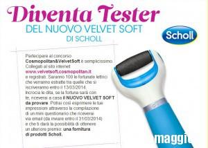 Diventa tester Velvet Soft con Cosmopolitan