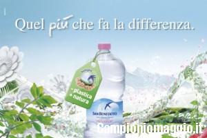 Vinci premi con acqua San Benedetto