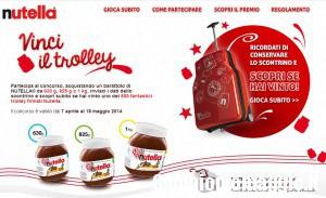 Vinci uno dei 500 Trolley Nutella