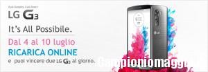 Wind: ricarica e vinci uno smartphone LG G3