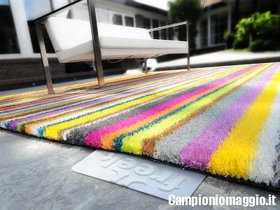 Come riciclare vecchi tappeti - Amazon tappeti ingresso ...