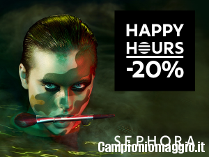 Happy Hours di Sephora: -20% su tutto!