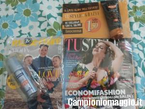 Campioni omaggio in edicola con TuStyle e Marie Claire