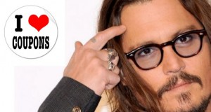 Johnny Depp pazzo per i coupons!