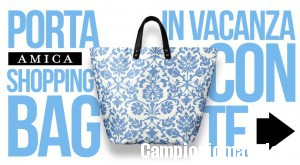 Borsa Shopper in allegato con Amica