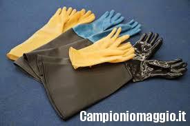 Come riciclare vecchi guanti di gomma