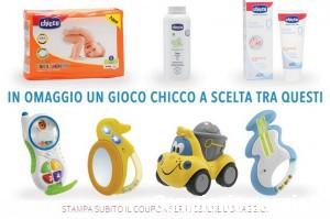 Tigotà: giocattolo Chicco omaggio con i pannolini