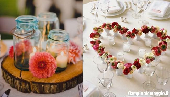 Famoso Matrimonio: idee per un centrotavola fai da te | Campioniomaggio.it LN38