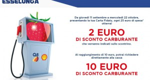 Sconto carburante all'Esselunga