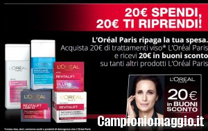 Spendi e riprendi L'Oreal Paris