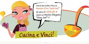 Cucina e Vinci un Mestolo d'oro da 1000 euro!