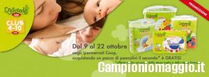 Pannolini crescendo Coop: 1+1 gratis