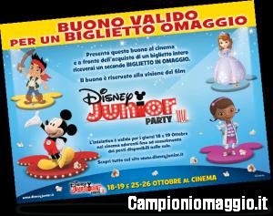 Biglietti omaggio per il Disney Junior Party