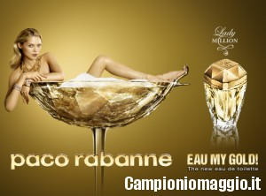 Vinci un flacone di profumo Lady Million Eau My Gold!
