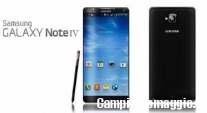 Wind: ricarica online e vinci Samsung Galaxy Note 4