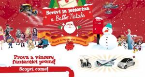 Scrivi a Babbo Natale e vinci giocattoli con Mattel