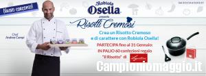 Concorso Robiola Osella: vinci kit per il risotto