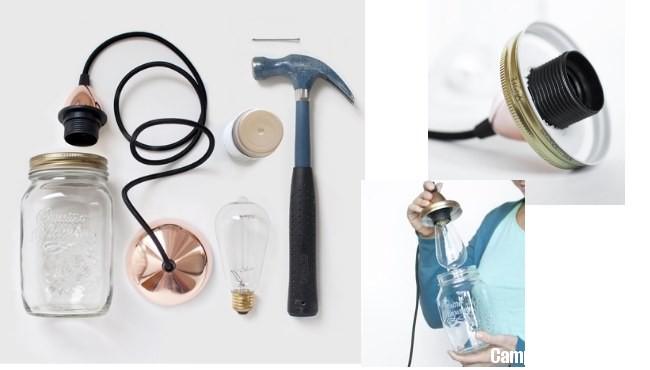 Come creare una lampada con i barattoli delle conserve  CampioniOmaggio.it: Campioni Omaggio ...