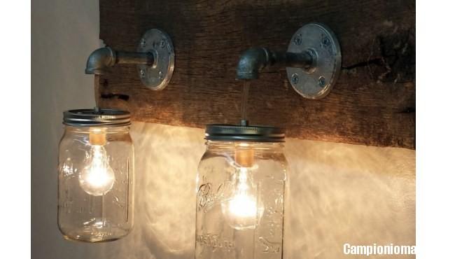 Lampada Barattolo Nutella Concorso : Come creare una lampada con i barattoli delle conserve