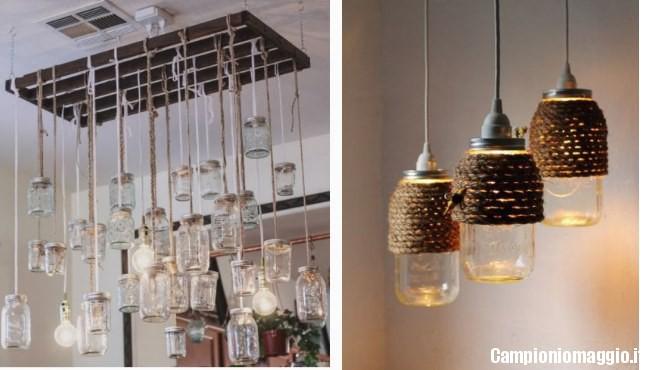 Come creare una lampada con i barattoli delle conserve - Campioni omaggio