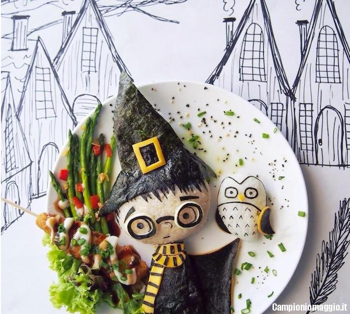 decorare cibo bambini3