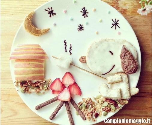 decorare cibo bambini4