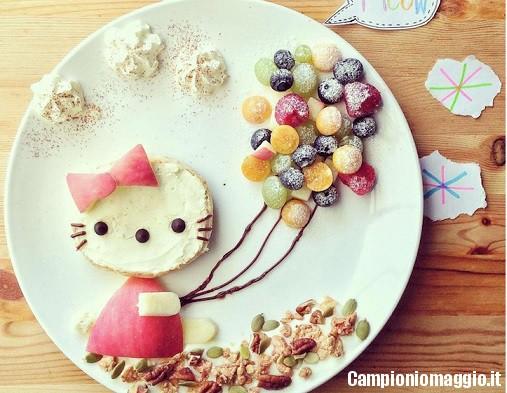 decorare cibo bambini5