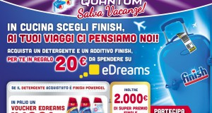 Voucher eDreams omaggio con Finish