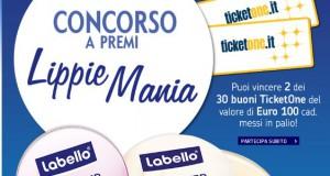 Concorso Labello: vinci ticket one da 100 euro