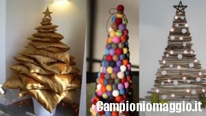 Alberi di Natale fai da te economici ed ecologici