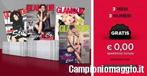 Rivista Glamour omaggio per tre mesi