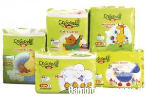 1+1 gratis sui pannolini Crescendo Coop