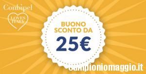 Buono sconto Conbipel di 25 euro