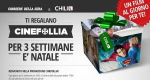 Chili TV: tre settimane di film gratis